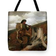 A Huntsman And Dogs Tote Bag