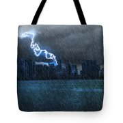 Hurricane Irma Florida  Tote Bag