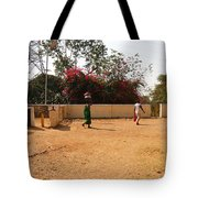Hurried Steps Tote Bag