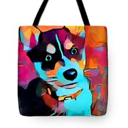 Husky 3 Tote Bag