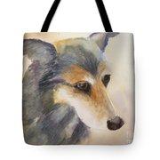 Husky Mix Tote Bag