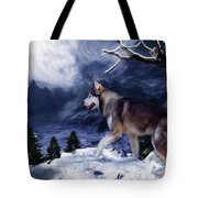 Husky - Mountain Spirit Tote Bag
