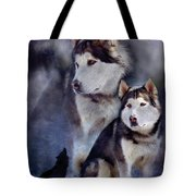 Husky - Night Spirit Tote Bag