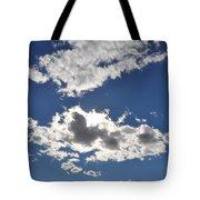 Huson River Clouds 1 Tote Bag