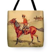 Hussar Russian Guard Corps Tote Bag