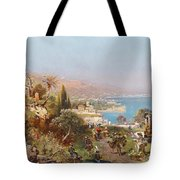 Hustle And Bustle In A Southern Harbour City Tote Bag