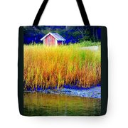 A Tiny Little Hut For Tiny Little People Tote Bag