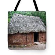 Hut Yucatan Mexico Tote Bag