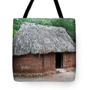 Hut Yucatan Mexico Tote Bag