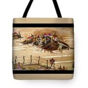 Huts And Temples On Hills Tote Bag