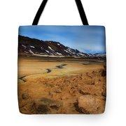 Hverir Geothermal Springs Tote Bag