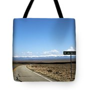 Hwy 142 Heading To San Luis Tote Bag