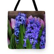 Hyacinths And Tulips II Tote Bag