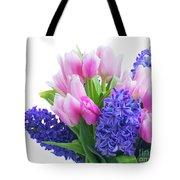 Hyacinths And Tulips  Tote Bag