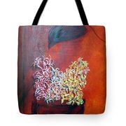 Hyacinths In Shape Times 3 Tote Bag