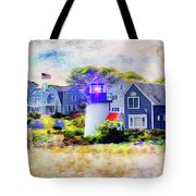 Hyannis Lighthouse Tote Bag