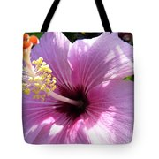 Hybiscus Smile Tote Bag