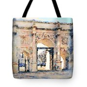 Hyde Park Entrance Tote Bag