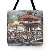 Hyde Park Market Plein Air Tote Bag