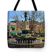 Hyde Park Square  4183 Tote Bag
