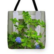 Hydrangea Blooming In October Tote Bag