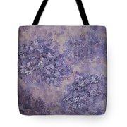 Hydrangea Blossom Abstract 2 Tote Bag