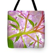 Hydrangea Flower Inside Floral Art Prints Baslee Troutman Tote Bag