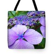 Hydrangea Flowers Art Prints Hydrangea Garden Giclee Art Prints Baslee Troutman Tote Bag