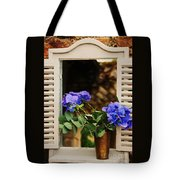 Hydrangeas In A Vase Tote Bag