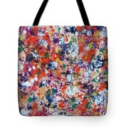 Hydrangea In Red Whirlpool Tote Bag