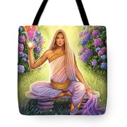 Hydrangea - Restructure The Pattern Tote Bag