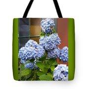 Hydrangea Window Tote Bag