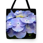 Hydrangeas In Purple Tote Bag