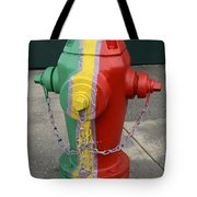 Hydrant With A Facelift Tote Bag