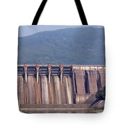 Hydroelectric Power Plants On River Tote Bag
