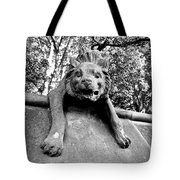 Hyena On The Wall Tote Bag