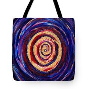 Hypnotic Gold Tote Bag