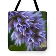 Hyssop Blue Tote Bag