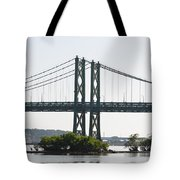 I-74 Bridge Tote Bag