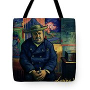 I Am Afraid You Will Never Deliver That Letter To Theo Van Gogh Tote Bag