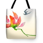 i Am Flying To You Tote Bag