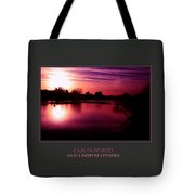 I Am Inspired And I Inspire Others Tote Bag
