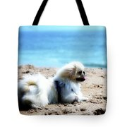 I Am King Of This Beach Tote Bag