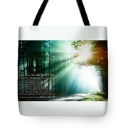 I Am The Bread Of Life Tote Bag