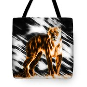 I Am The Lioness Tote Bag