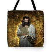 I Am Watching To See That My Words Come True Tote Bag