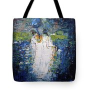 I Am With You Tote Bag