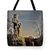 I Bring All Of My Mourning To The Cross Tote Bag