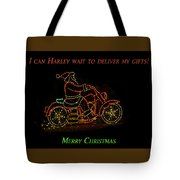 I Can Harley Wait Tote Bag