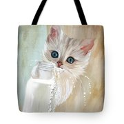 I Didn't Do Nothing Tote Bag